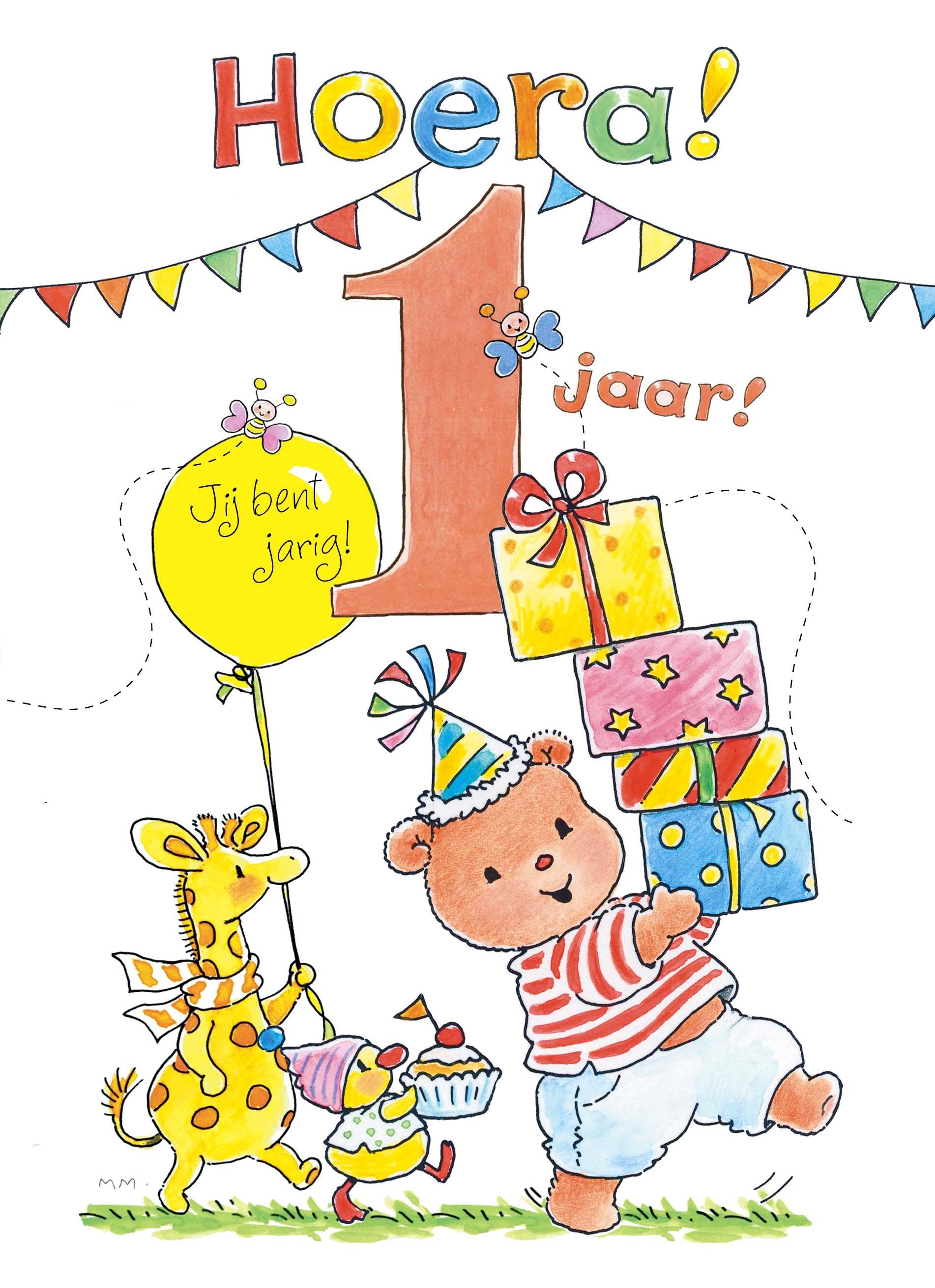 Verjaardag Baby 1 Jaar