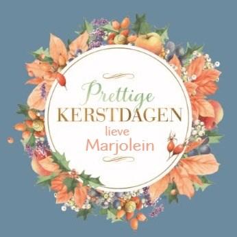 - Marjolein-Bastin-Kerstkrans