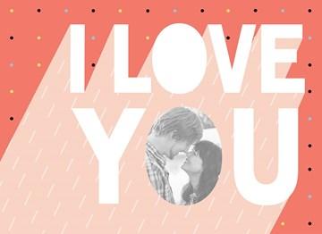 Valentijnskaart - love-fotokaart