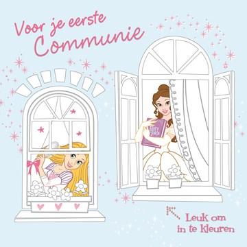 - princessen-inkleurkaart-met-belle-en-rapunzel-eerste-communie-