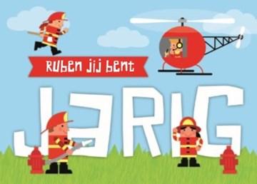 - jarig-stoere-brandweerman