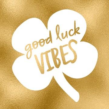 succes goed gedaan kaart - good-luck-vibes-goud