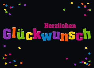 Glückwunschkarte - Gratulationskarte - 0D8AD8B6-7F03-41B8-B1F2-1CB2ED781D4D