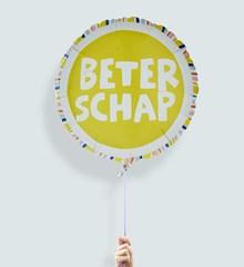 Ballon beterschap kleurrijk