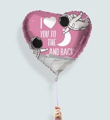 Ballon Love You to the Moon