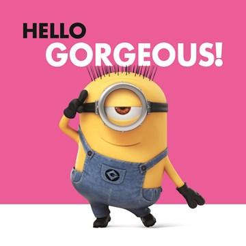 - minions-hello-gorgeous