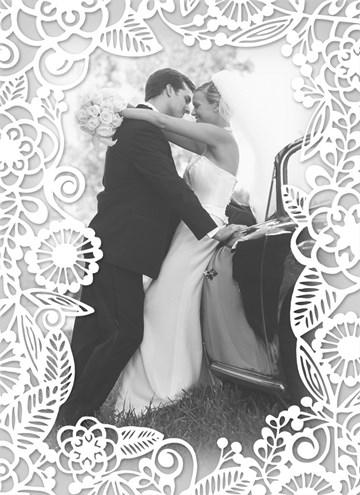 - huwelijk-fotokaart-bedankt-wit-barok-patroon