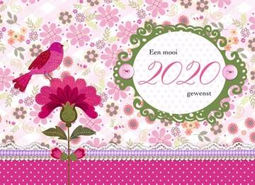- roze-bloem-met-vogel-2020