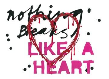 valentijnskaart - Valentijnskaart-Ruud-de-Wild-Nothing-breaks-like-a-heart