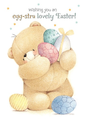 Paaskaart - wishing-you-an-egg-stra-lovely-easter-forever-friends-kaart