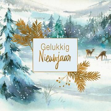 - nieuwjaarskaart-klassiek-sneeuw-met-herten-