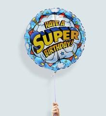 Ballon Super birthday