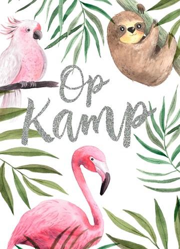 - Op-kamp-kaart-jungle-dieren
