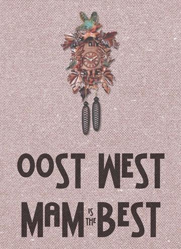 Boomerang kaart - oost-west-mum-is-the-best