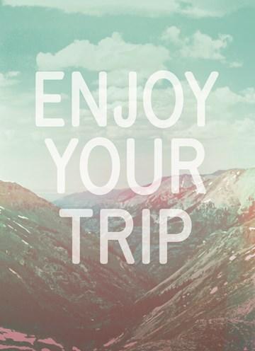 Reizen kaart - enjoy-your-trip