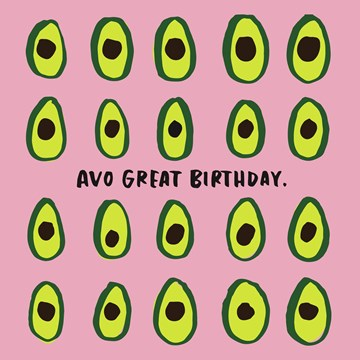 wenskaarten - avo-great-birthday