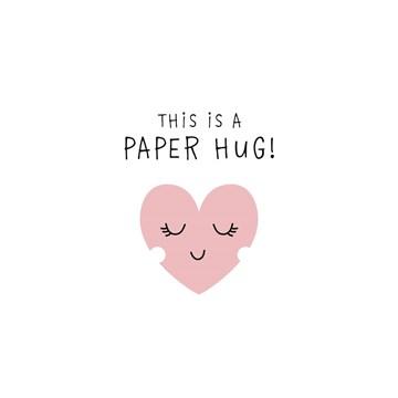 Beterschapskaart - sterkte-this-is-a-paper-hug
