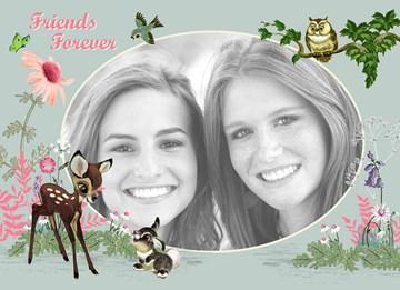 - fotokaart-disney-bambi-friends-forever