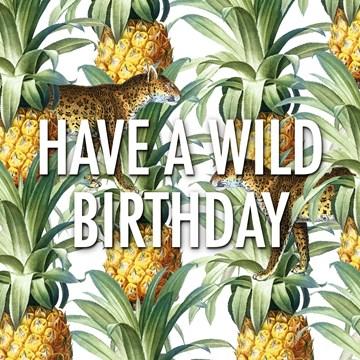 Verjaardagskaart vrouw - CLA-have-a-wild-birthday