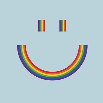 - regenboog-glimlach