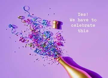 succes goed gedaan kaart - Celebrate-this