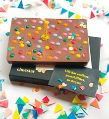 Chocstar Hiep Hiep Verjaardags Chocolade