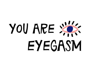 valentijnskaart - Valentijnskaart-grappig-You-are-eyegasm