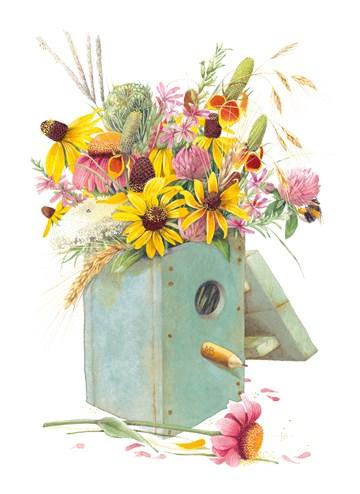 - met-bloemen-gevulde-vogelhuis