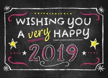 Bereiten Sie anderen eine Freude: mit Grüßen für einen guten Rutsch ins Neue Jahr - BEE341C9-F565-4045-AC66-2D5FD98B9312