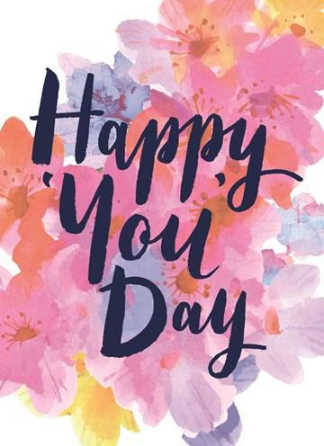 - hele-mooie-geschilderde-bloemen-met-waterverf-en-de-tekst-happy-you-day
