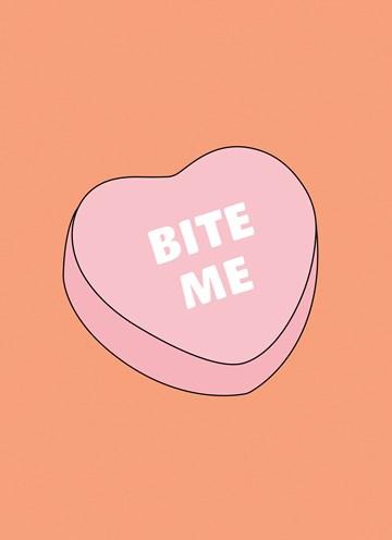 valentijnskaart - Valentijnskaart-grappig-bite-me
