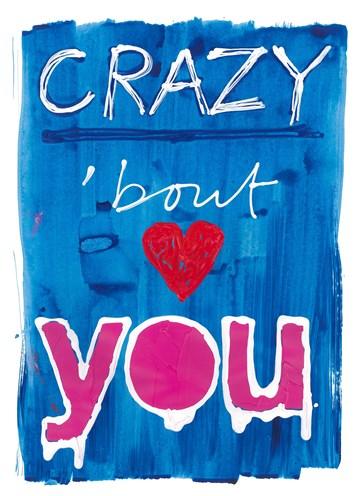 valentijnskaart - Valentijnskaart-Ruud-de-Wild-Crazy-about-you