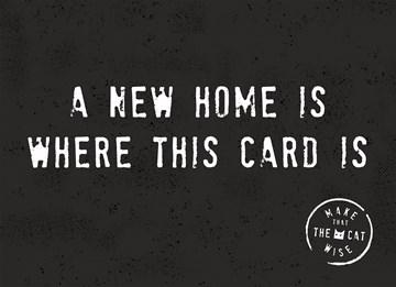 Nieuwe woning / Verhuiskaart - a-new-home-is-whare-rthis-card-is