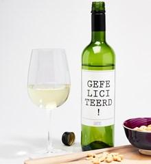 Witte Wijn Gefeliciteerd