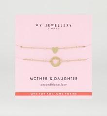 My Jewellery Moeder en Dochter Armband