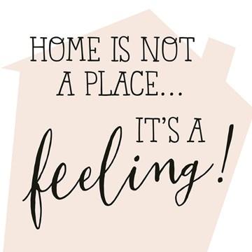 Nieuwe woning / Verhuiskaart - Home-is-not-a-place