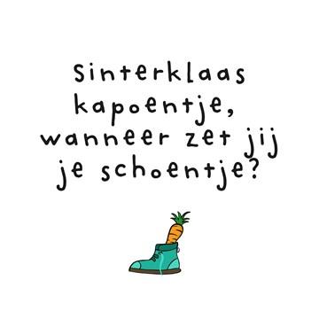 - Sinterklaaskaart--Sinterklaas-kapoentje-wanneer-zet-jij-je-schoentje