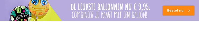 De leukste ballonnen nu € 9,95