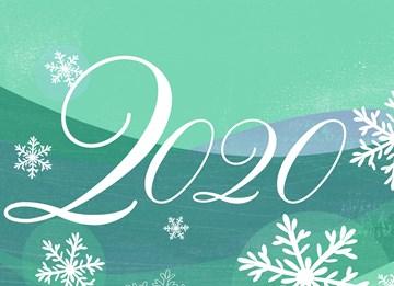 - -groene-kerstkaart-met-2020-en-sterren