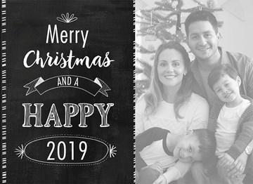 - merry-christmas-met-foto-op-zwarte-achtergrond