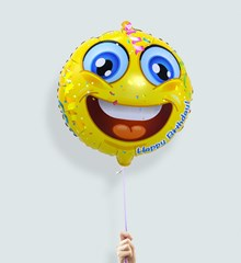 Ballon Emoji Happy Birthday