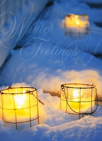 Winterkarte - Winter Grußkarte  - 262692EE-593E-411A-8CD9-E6292BAEF6B9