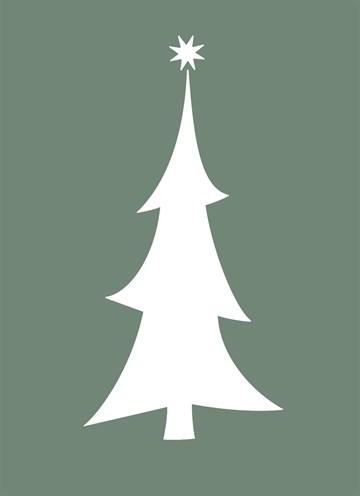 Kerstkaart - hallmark-kerstkaart-met-kerstboom