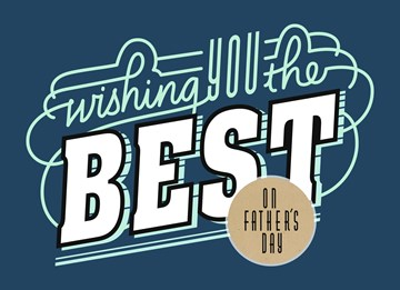 Vaderdag kaart - wishing-you-the-best-on-fathersday