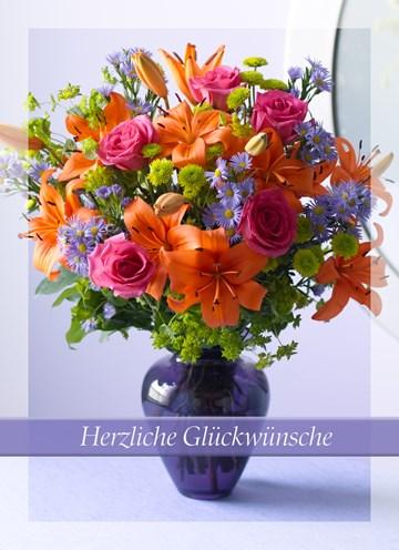 Glückwunschkarte - Gratulationskarte - ECDEC372-BDB9-4018-96F2-94ED1C6642F8