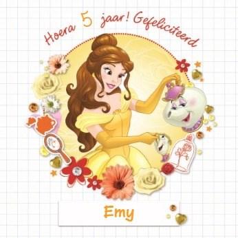 - disney-princess-belle-hoera-gefeliciteerd