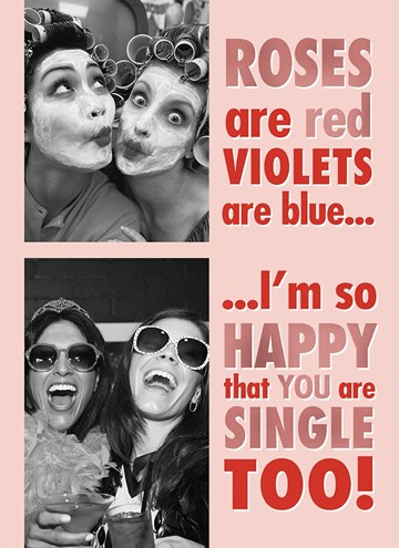 Valentijnskaart - roses-are-red-violets-are-blue-fotokaart