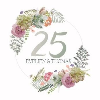 - botanical-kaart-echtvereniging-25-jaar-getrouwd