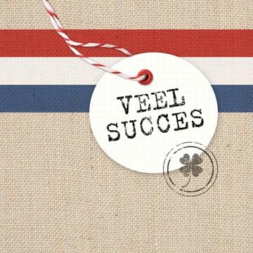 Werken / Pensioen kaart - postzak-veel-succes