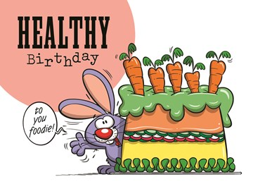 Funny Mail kaart - funny-mail-healthy-birthday-to-you